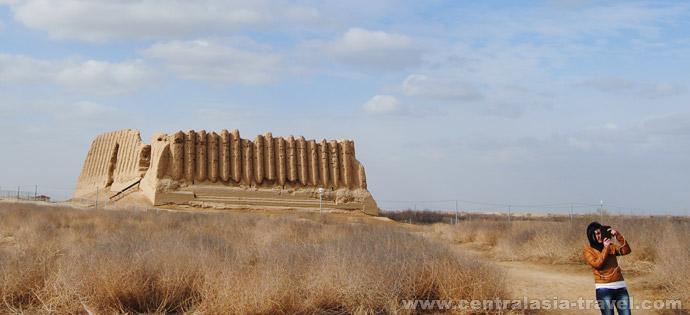 Крепость Кыз-Кала. Мерв, Туркменистан