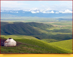 Das Suusamyr-Tal