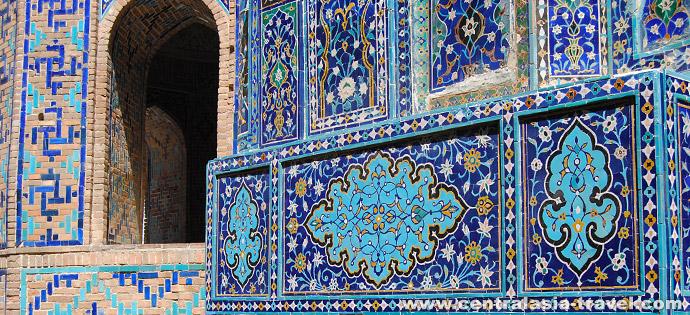 Nekropole von  Shah-i-Zinda. Samarkand, Usbekistan