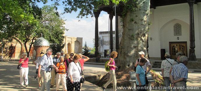 Дворец Ак-Сарай. Резиденция Амира Темура в Шахрисабзе. Шахрисабз, Узбекистан