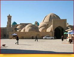 Kuppelbasare. Buchara, Usbekistan