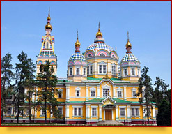 Ascension (Zenkov) Cathedral in Almaty