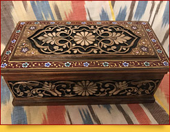 Uzbek Handicrafts: Wood Carving and Painting