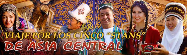 Viaje por los cinco stans de asia central
