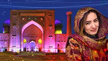 Die neujahrsfeiertage in Usbekistan