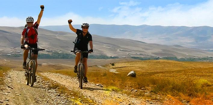 El viaje ciclista en Uzbekistán