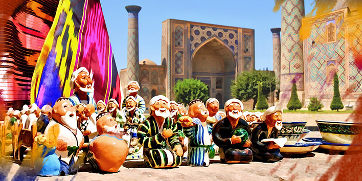 Uzbekistan Tour: Treasure Chest with Oriental Adventures