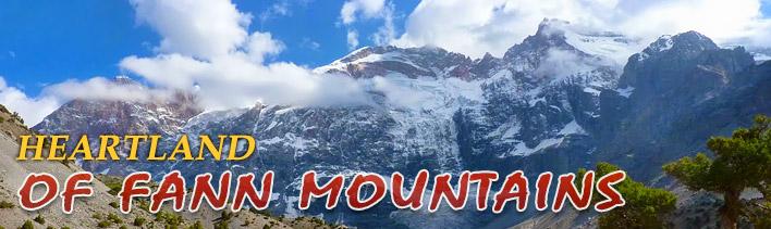 Trekking in the Heartland of the Fann mountains