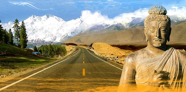Voyage par la route de la haute montagne à travers le Kirghizstan - la Chine - le Pakistan