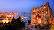 Reise ins land der feuer. Ausflugstour in Aserbaidschan