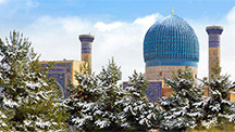 Silvesterreisen nach Usbekistan