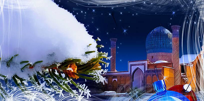 New Year 2021 in Uzbekistan: New Year's Eve Celebration in Samarkand