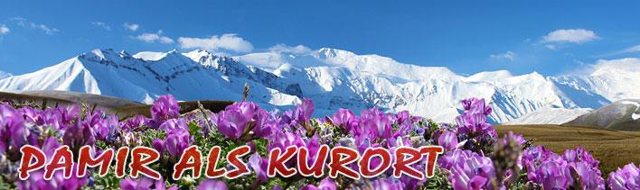 Familienurlaub im Gebirge Kirgisiens. Aktive Erholung im Pamir-Gebirge