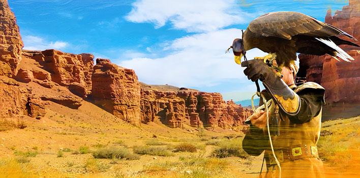 Тур в Казахстан: Поющий бархан, Чарынский каньон и пять прекрасных озер