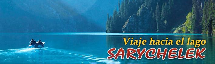 Trekking to lake Sary-Chelek