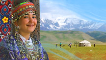 Tour across the main touristic attractions of Uzbekistan and Kyrgyzstan