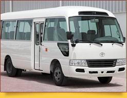 Микроавтобус Toyota Coaster