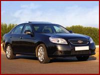Легковой автомобиль Chevrolet Epica