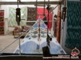 Machine à tisser la soie. Coupoles de Commerce de Boukhara, Ouzbékistan