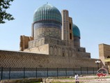 Мечеть Биби-Ханым (конец XIV века). Самарканд, Узбекистан