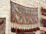 Ковровые изделия Узбекистана
