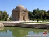 Мавзолей Саманидов (IX в). Бухара, Узбекистан