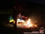 Вечер у костра. Альплагерь «Чимган» компании Central Asia Travel. Чимган, Узбекистан
