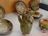 Uzbek ceramics. Tour To Aydarkul Lake via Kyzyl-Kum desert