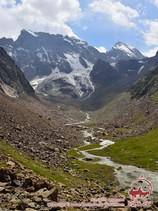 Uryam valley. Pamir-Alay area, Kyrgyzstan