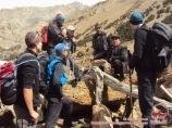 Reise zu den Piks Aksu und Sabakh