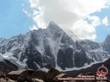 Aksu peak (5355m). Batken Region, Kyrgyzstan
