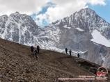 Sabakh peak (5283m). Batken Region, Kyrgyzstan