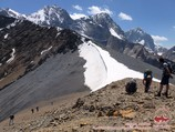Перевал Удобный (4140 м). Район Памиро-Алая, Кыргызстан