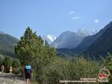 Пики Искандер (5120 м) и Аксу (5365 м). Район Памиро-Алая, Кыргызстан