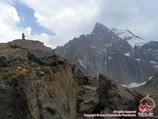 Aksu Peak (5355 m). Pamir-Alay area, Kyrgyzstan