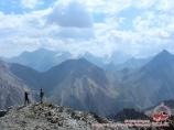 Udobniy pass (4140m). Pamir-Alay area, Kyrgyzstan