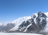 Walk around the camp 1. Lenin peak, Pamir, Kyrgyzstan