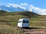 По дороге в базовый лагерь. Пик Ленина, Памир, Кыргызстан
