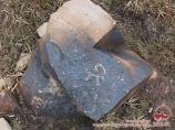 Петроглиф около Луковой поляны. Пик Ленина, Памир, Кыргызстан
