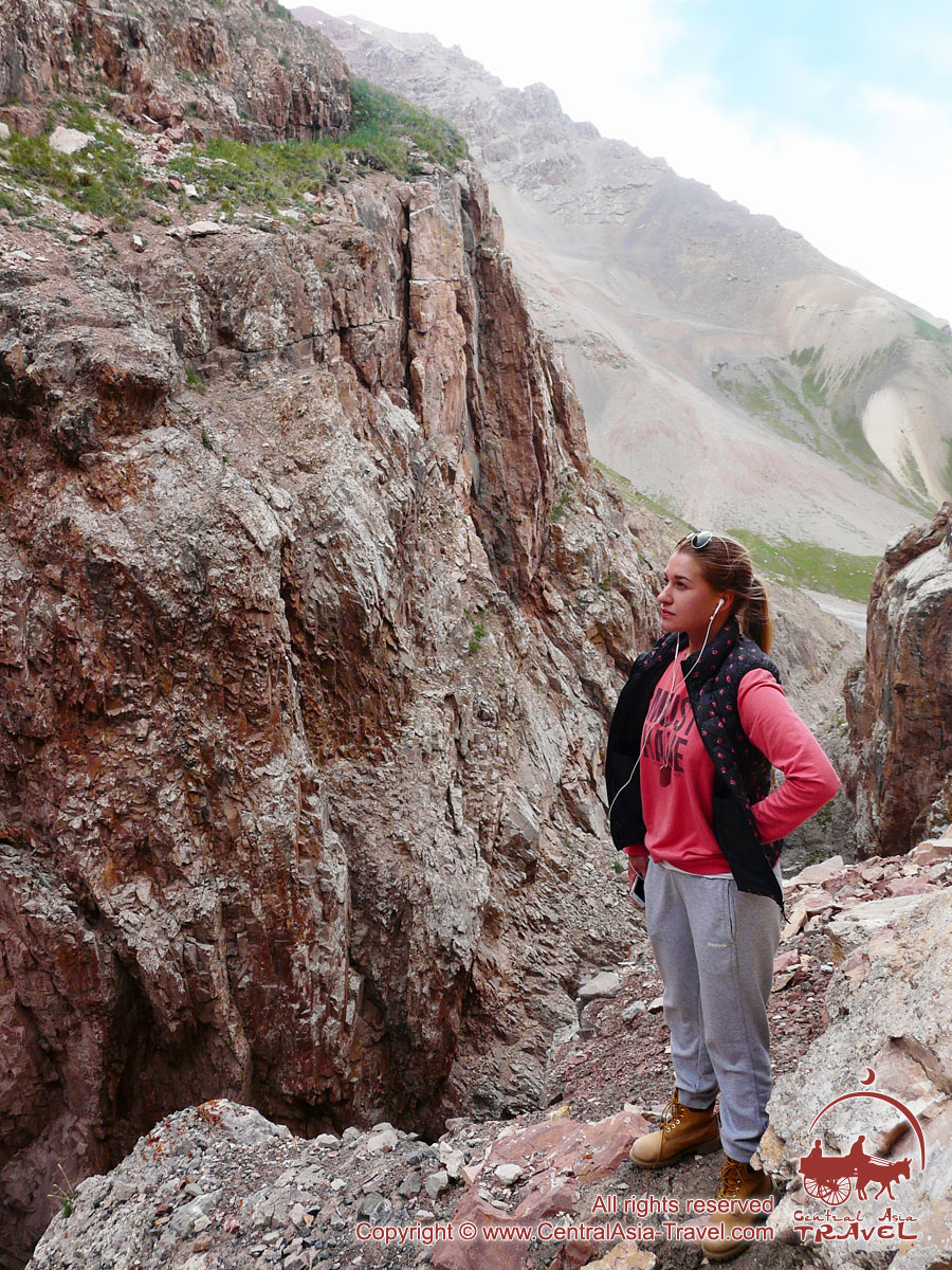 Surroundings of Lenin Peak base camp