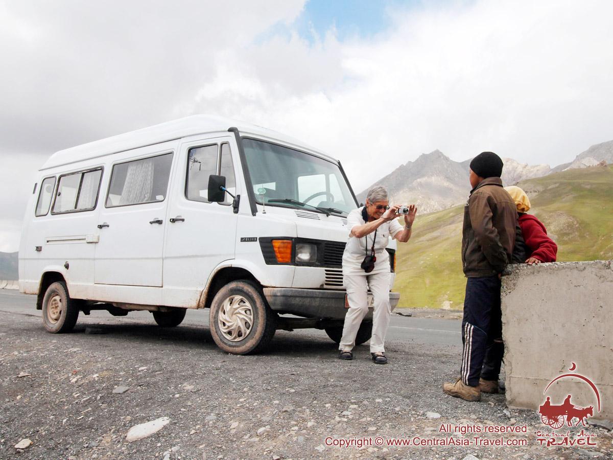 Paso Taldik (3615 m). Pamir