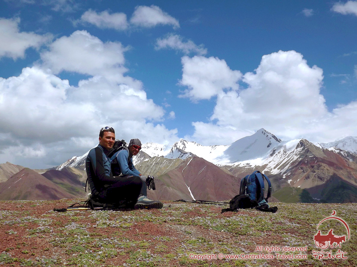 Prairie Lukovaya. Pic Lénine, Pamir, au Kirghizistan