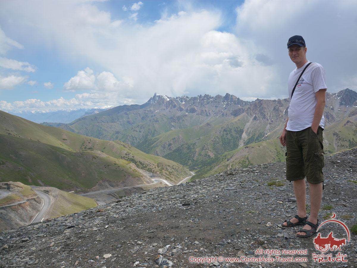 Paso Taldik (3615m). Pamir