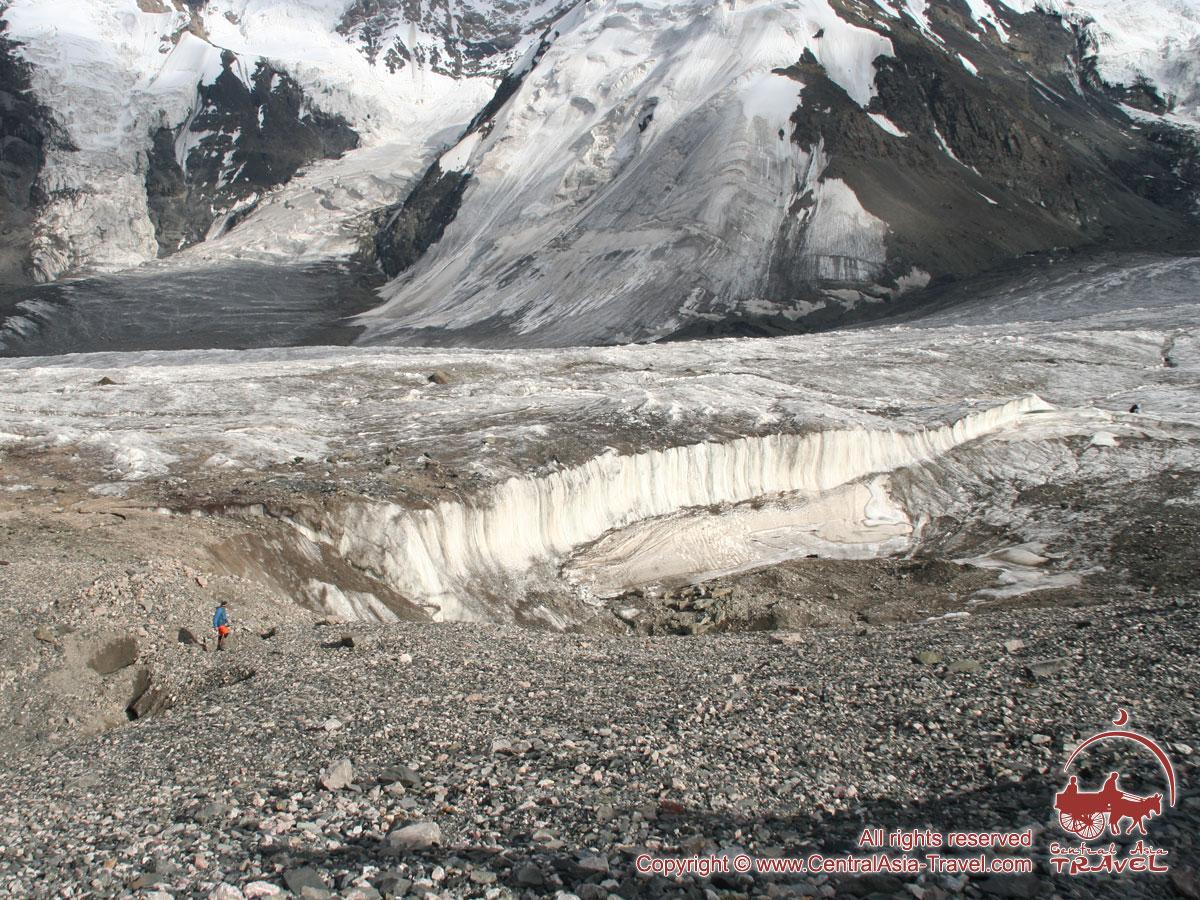 Surroundings of Lenin Peak Camp 1