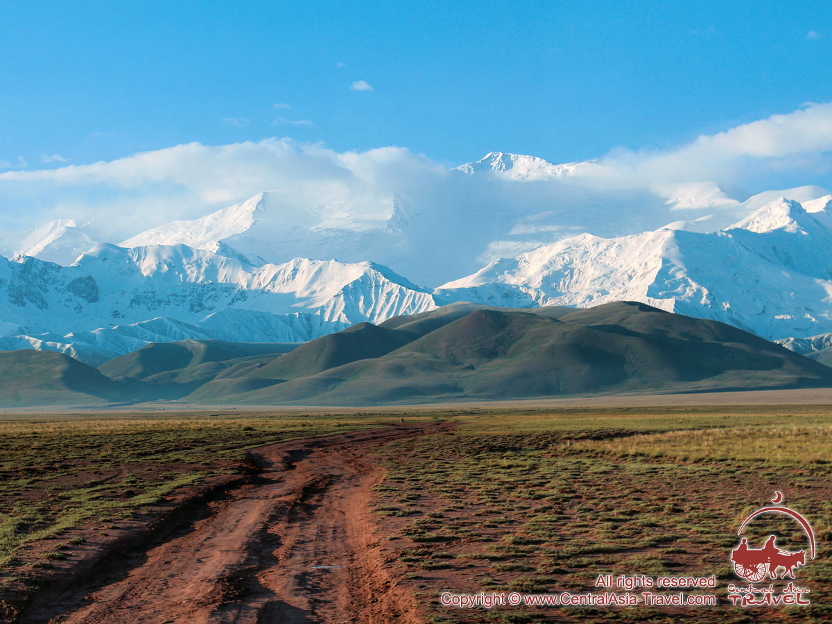 Chon-Alai-Tal. Pamir, Kirgisistan