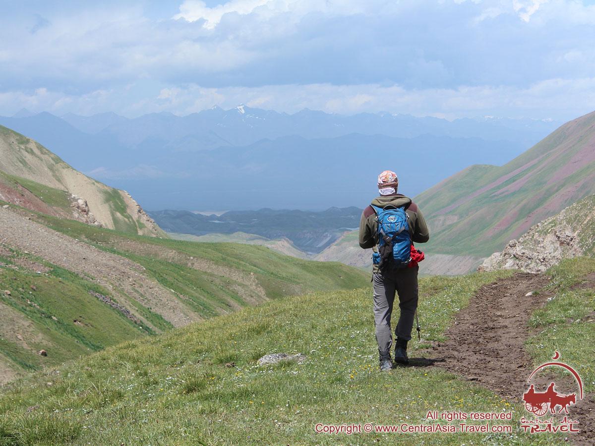 Возвращение в базовый лагерь. Пик Ленина, Памир, Кыргызстан