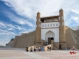 Fortaleza Arch. Bukhara, Uzbekistán