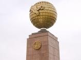 Plaza de la independencia en Tashkent