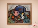 A.V. Kuprin. Stillleben mit einer rosa Teekanne. Museum der Künste. I. Savitsky. Nukus, Usbekistan