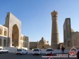 El complejo Poi-Kalyan. Bukhara, Uzbekistán